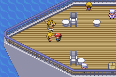 Pokemon Ash Gray (beta 3.61) - Location SS Anne -  - User Screenshot